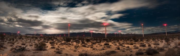 Windmills. Anza-Borrego Desert.