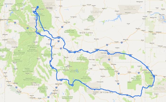 Quick Road Trip: Montana &Wyoming.