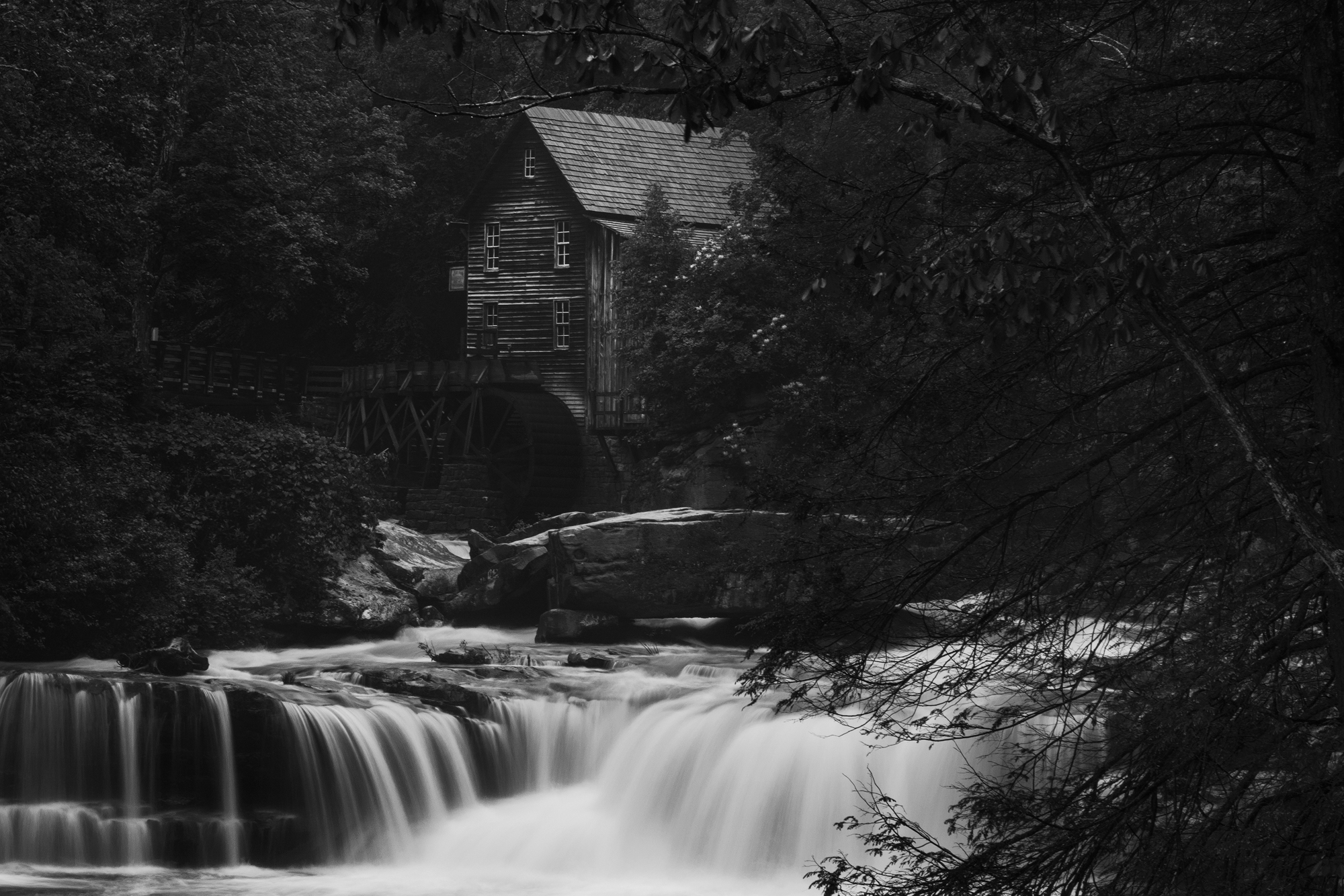 Grist Mill. Babcock State Park. West Virginia