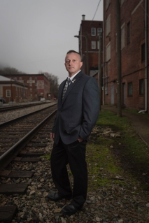 West Virginia State Senator Richard N. Ojeda II (D - Logan, 07) poses for a portrait in Logan, W.V., on Thursday, February 22, 2018. Ojeda is seeking the democratic nomination to run for the 3rd congressional district.